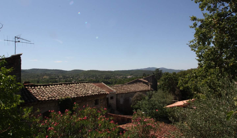 Maison avec piscine et terrasse Chauzon
