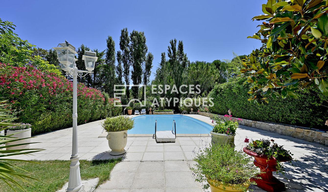 Maison avec piscine et terrasse Assas
