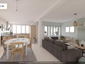 Loft 4 pièces 148 m2