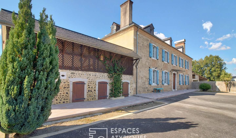 Maison avec piscine Tarsacq