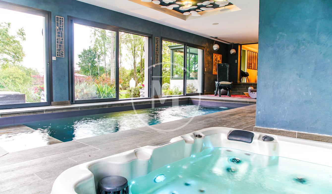 Maison avec piscine et terrasse Beaulieu-sur-Loire