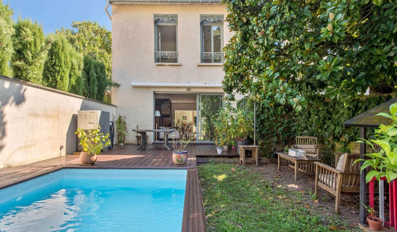 Maison avec piscine et terrasse Fontaines-Saint-Martin