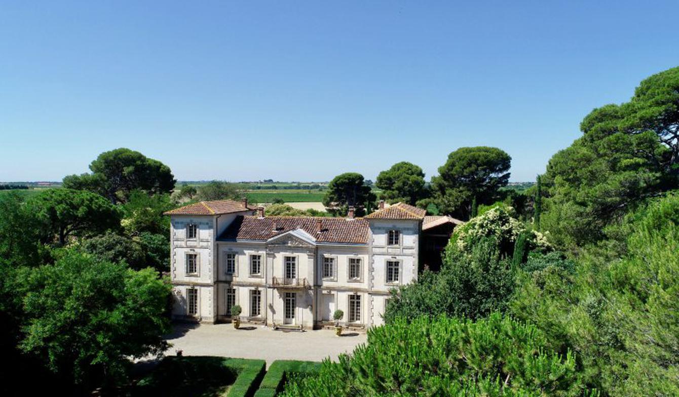 Château classé monument historique Montpellier