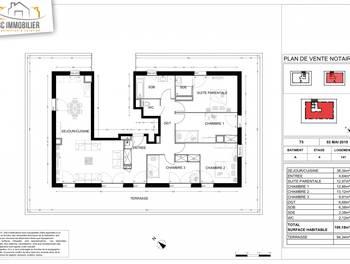 Appartement 5 pièces 109,18 m2