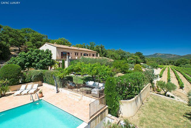 Propriété avec Piscine et Parc paysager, Saint-Tropez