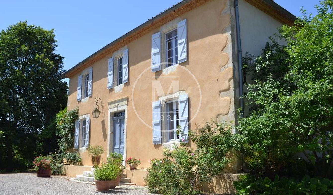 Maison avec piscine et terrasse Gimont