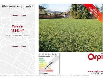 Terrain 1292 m2