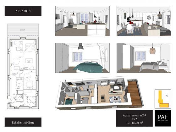 Vente appartement 86 m2