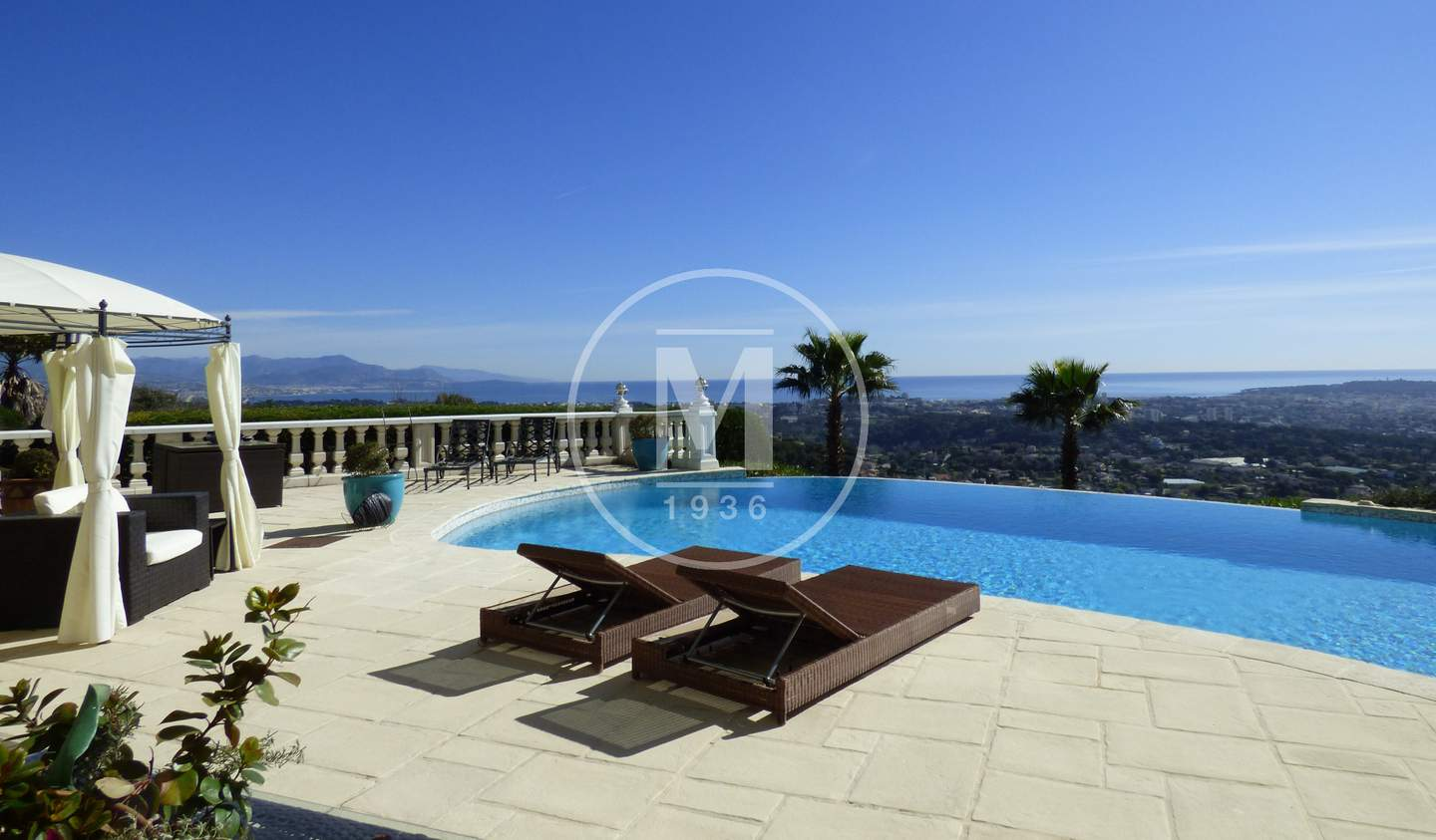 House with pool and terrace Le golfe juan