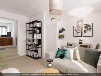 Appartement 2 pièces 43,08 m2
