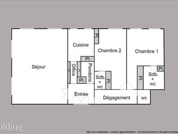 Appartement 4 pièces 112,8 m2