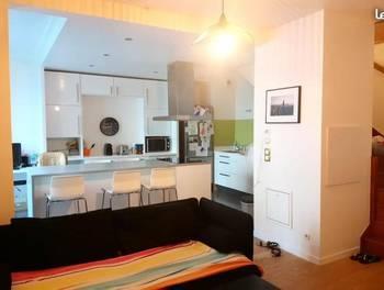 Appartement meublé 3 pièces 61 m2