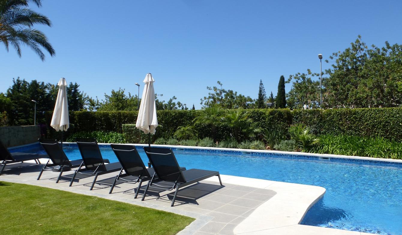 Appartement avec piscine en bord de mer Marbella