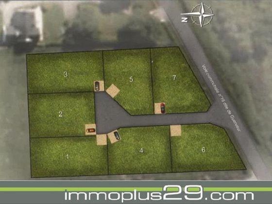 Vente terrain à bâtir 615 m2