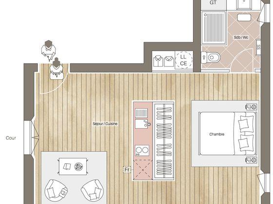 Vente studio 35,2 m2