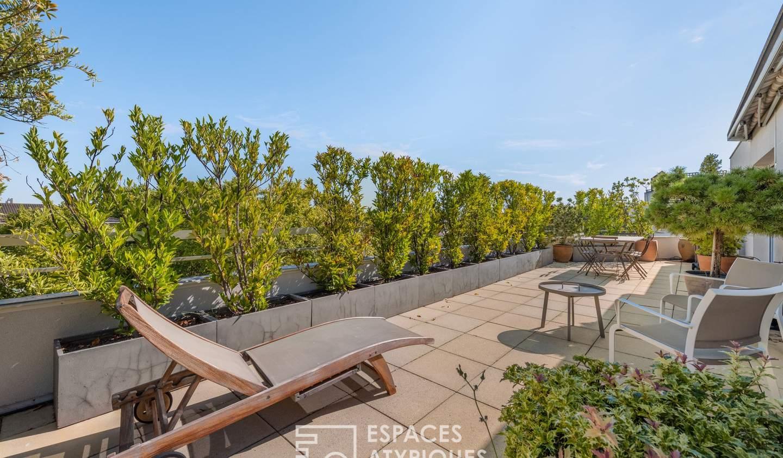 Apartment with terrace Villeurbanne