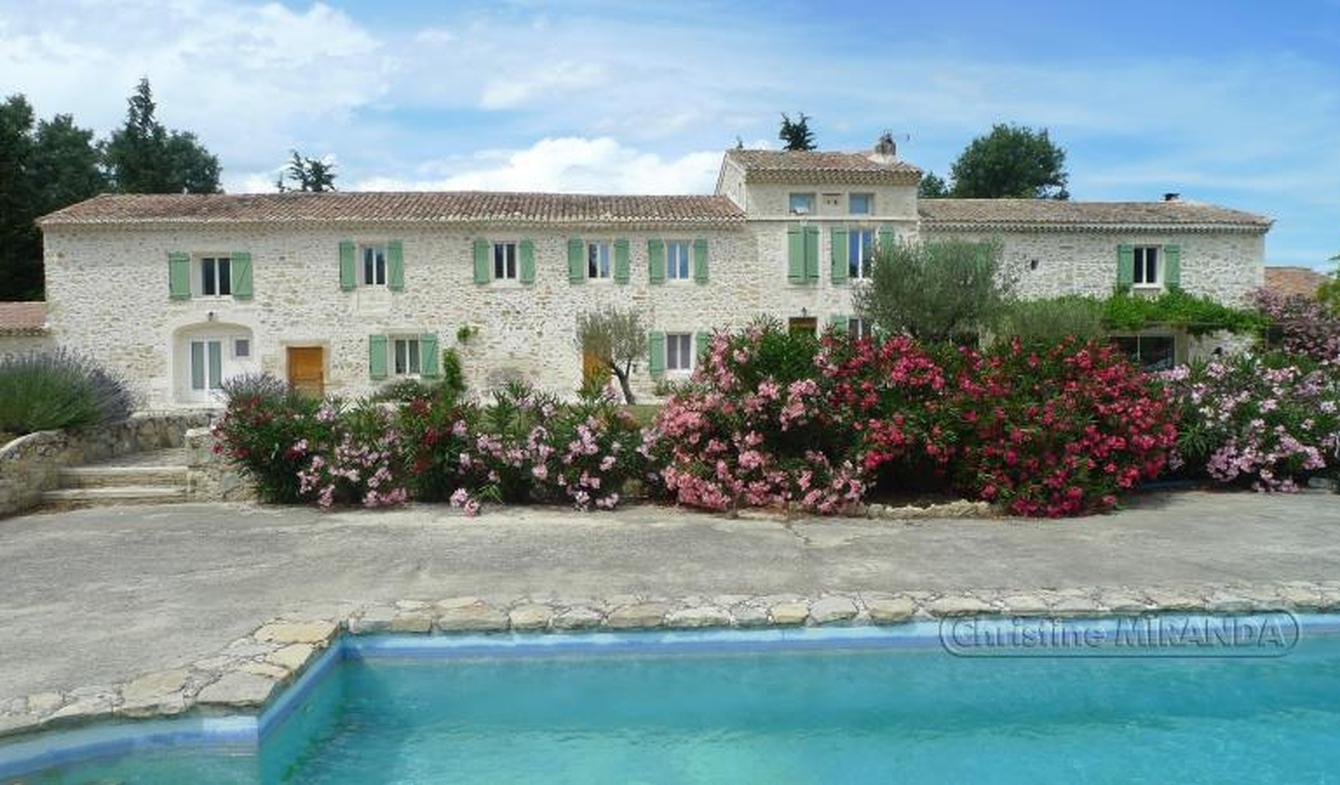 Maison avec piscine et terrasse Lapalud