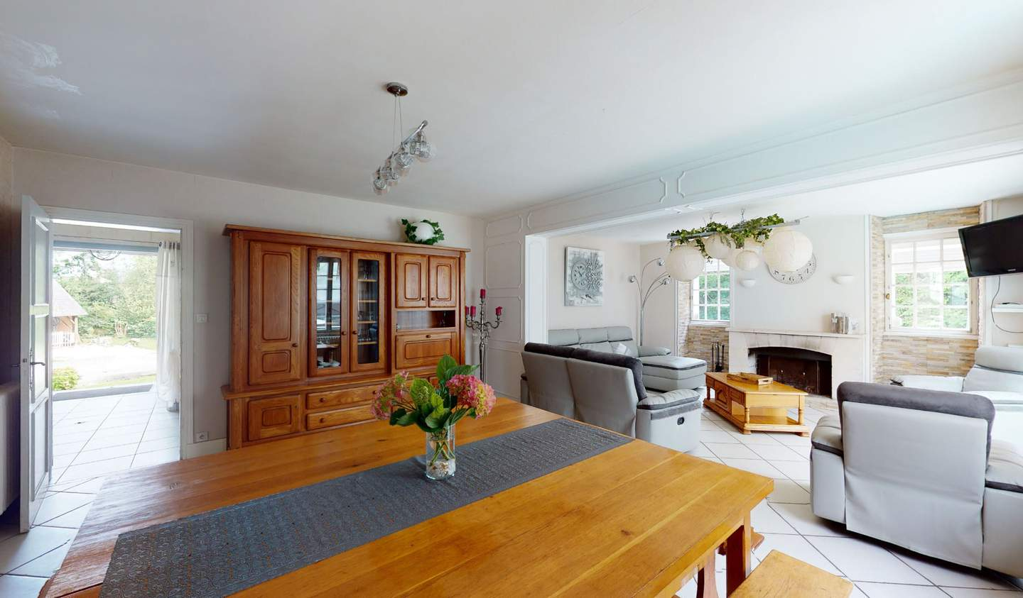 Property with pool Valognes