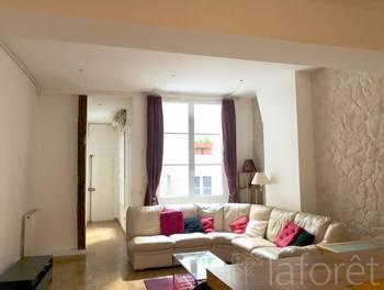 Appartement meublé 2 pièces 57,68 m2