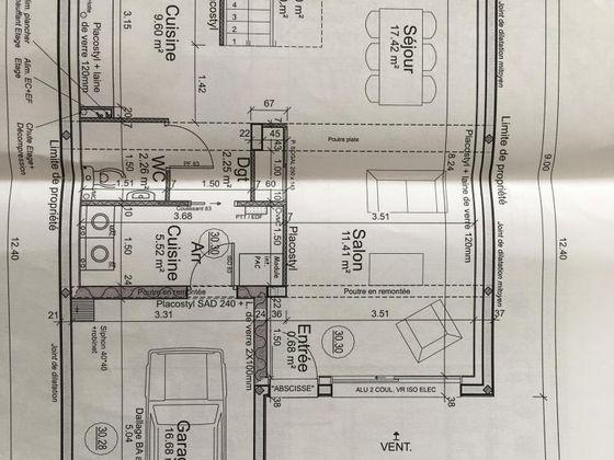 Location maison 4 pièces 92 m2