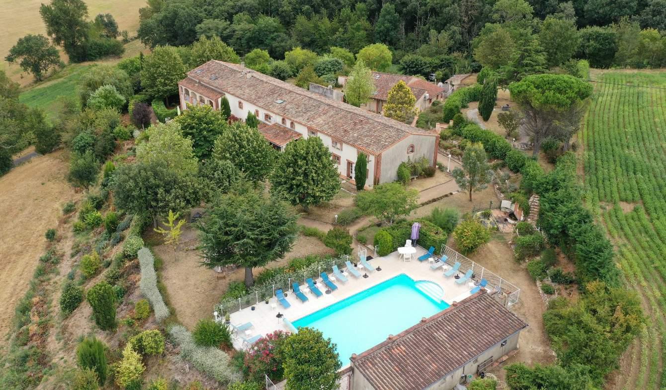 Propriété avec piscine Villefranche-de-Lauragais