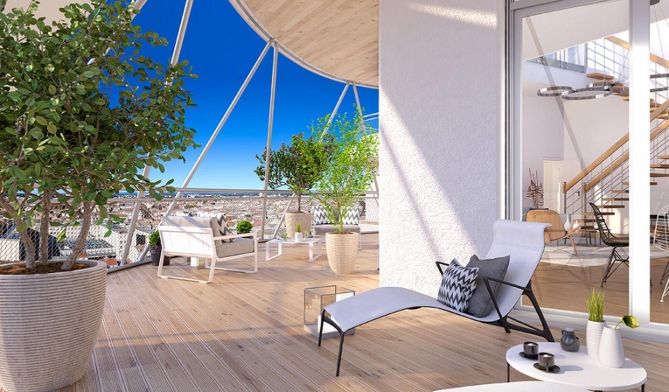 Appartement contemporain avec terrasse Montpellier