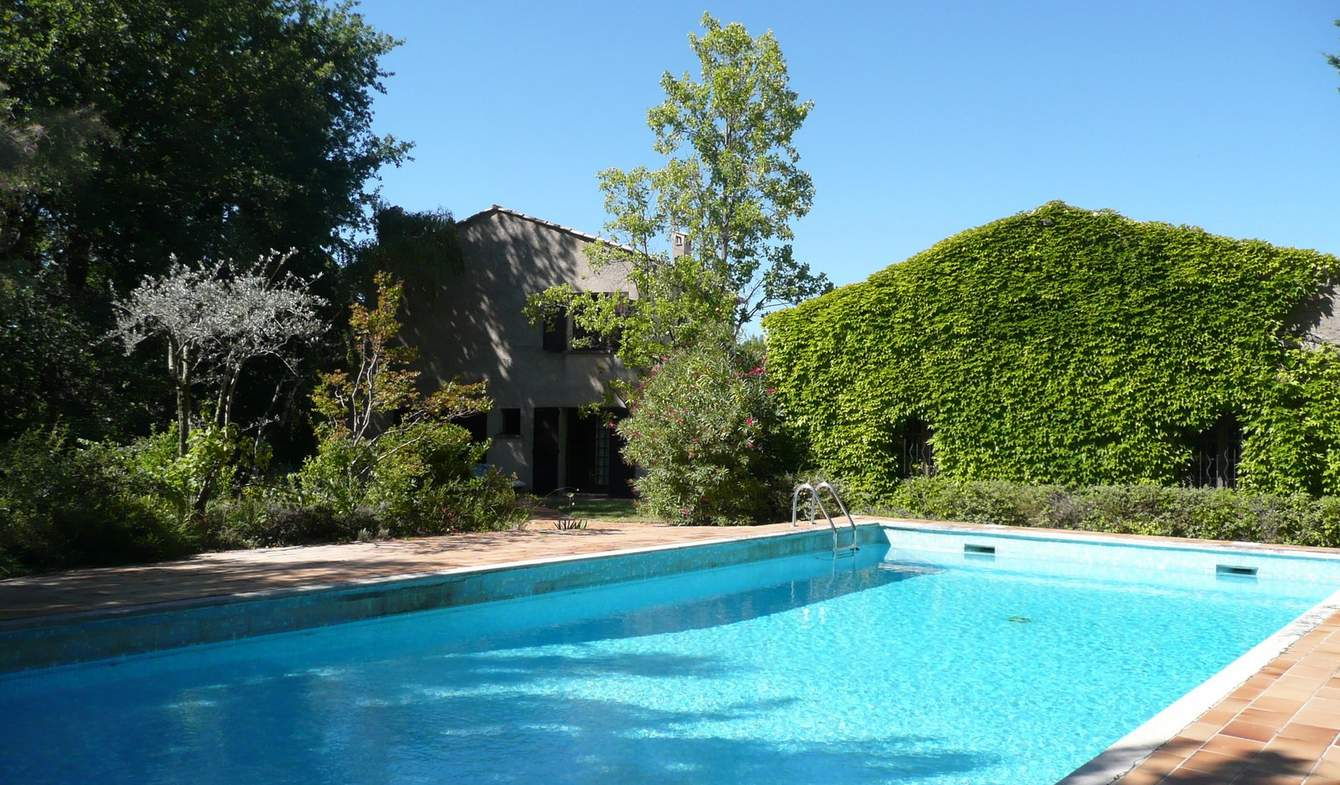 Maison avec piscine et jardin Séguret