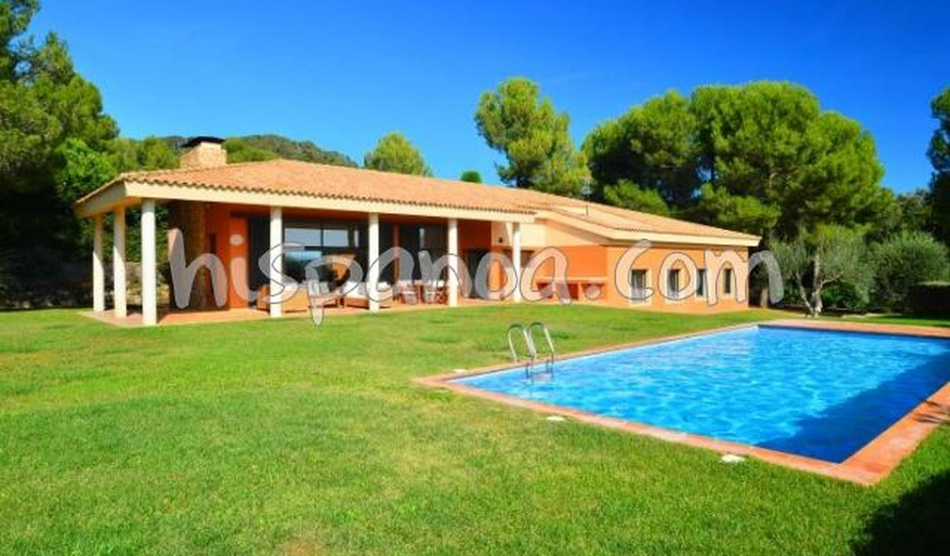 Villa with pool and terrace Begur