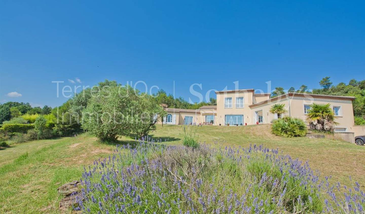 House with pool and terrace Carcassonne