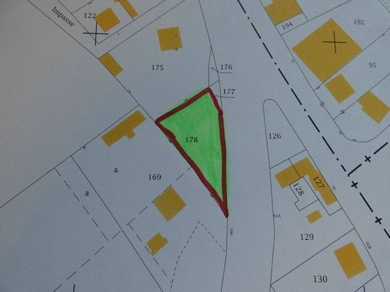 Vente terrain 693 m2