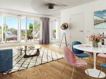 Appartement 4 pièces 102,52 m2