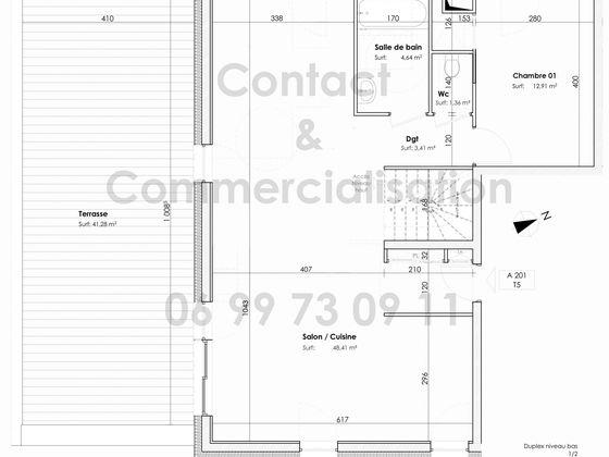 Vente appartement 4 pièces 109,33 m2