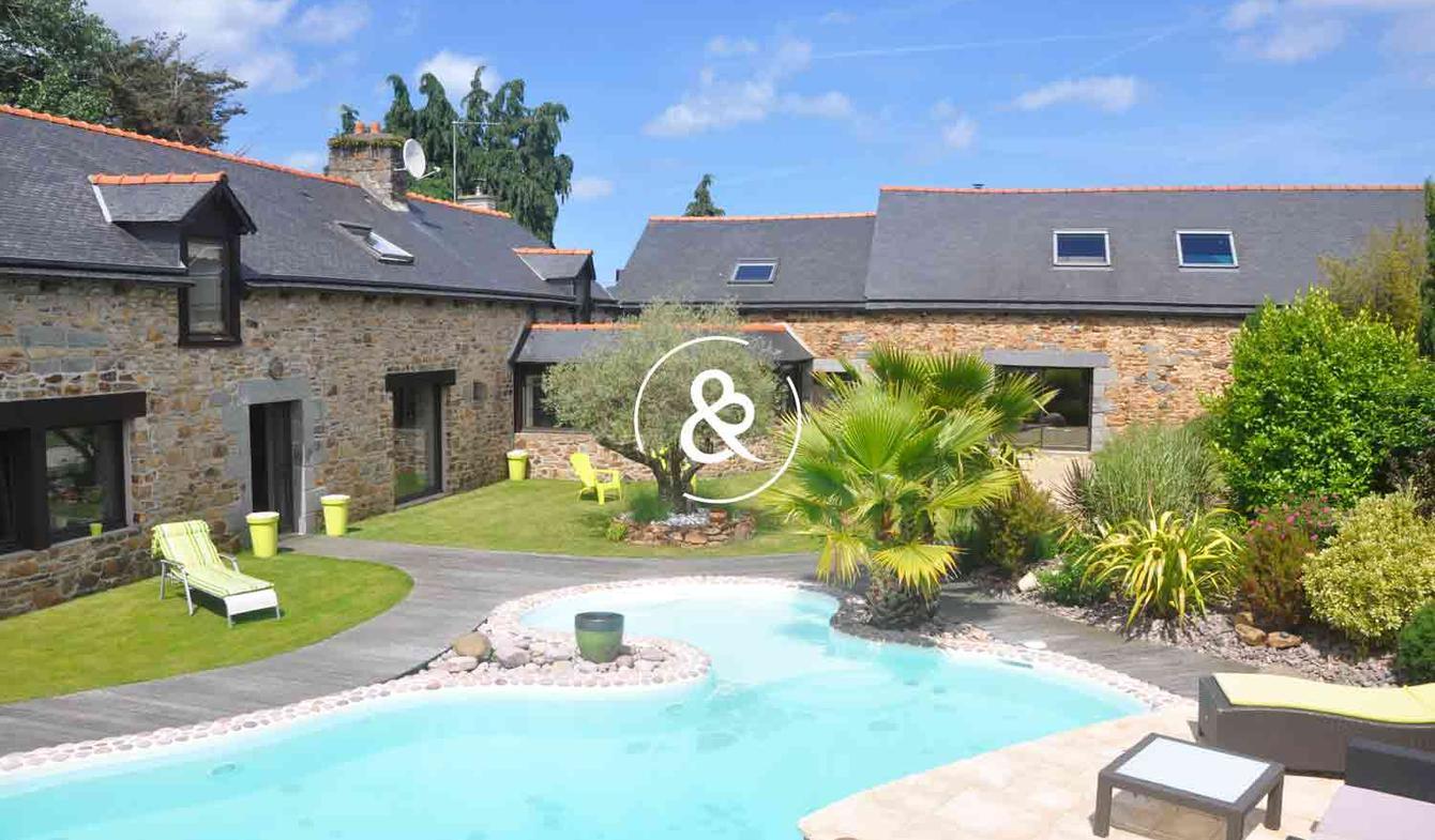 Maison avec piscine et terrasse Saint-Brieuc