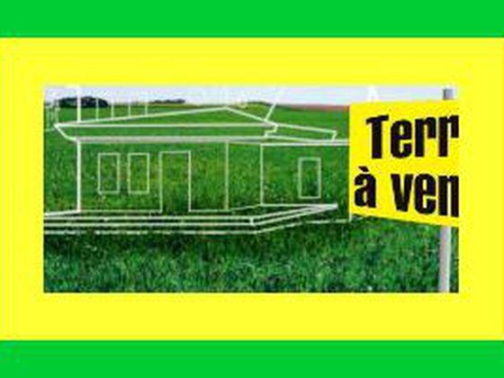 Vente terrain 1253 m2