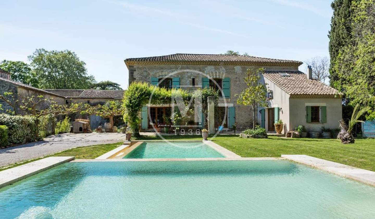 House with pool and terrace Aigues-Mortes