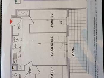 Appartement 3 pièces 52,87 m2