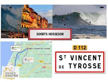 viager à Saint-Vincent-de-Tyrosse (40)