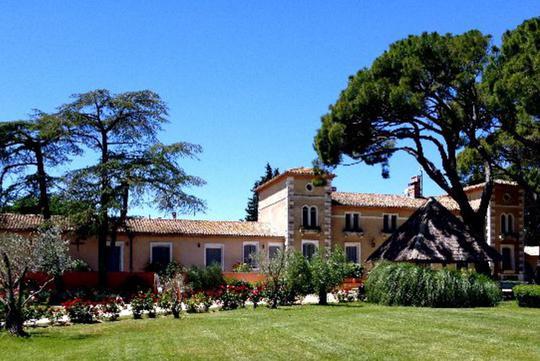 Hotel with garden