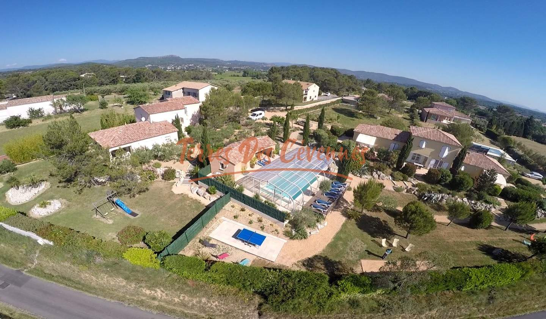 Propriété avec piscine Anduze