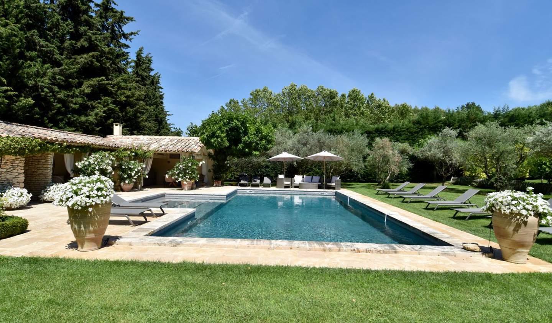 Villa avec piscine Oppède