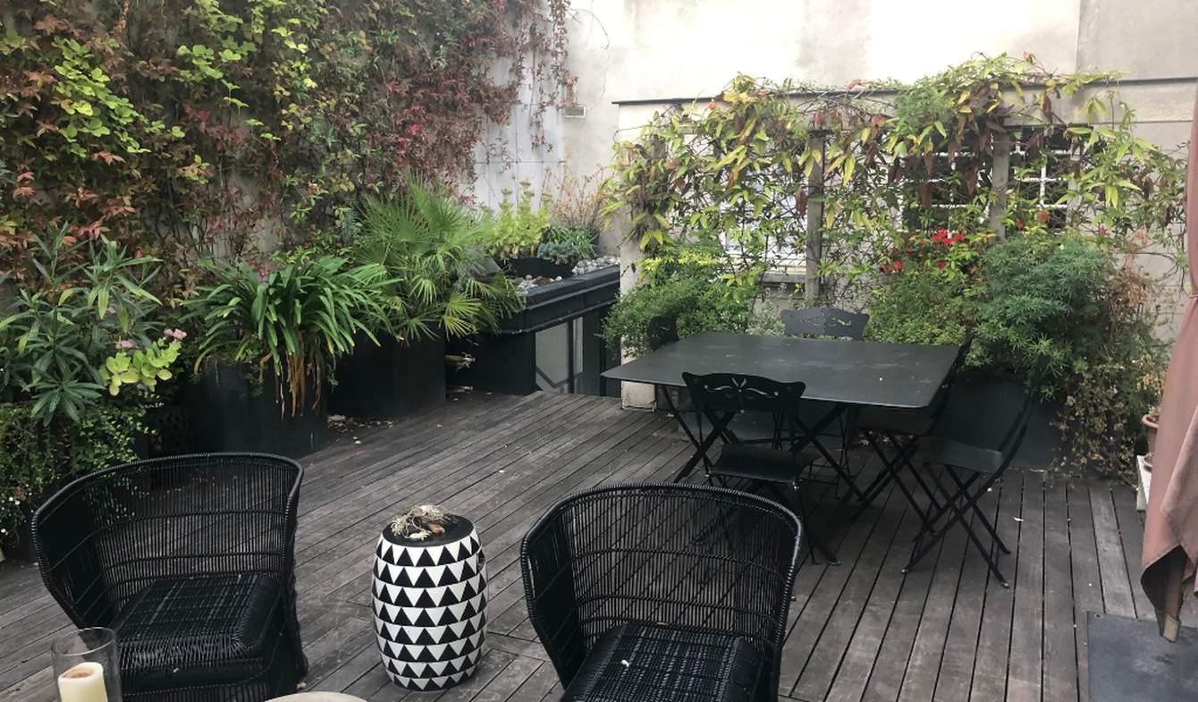 Maison avec terrasse Paris 4ème