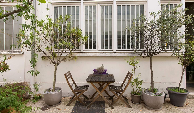 Apartment with terrace Paris 10th