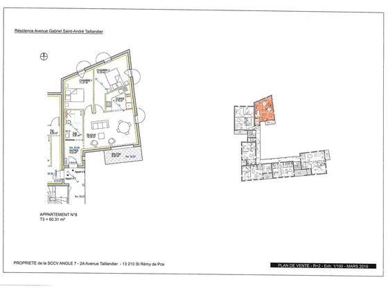Vente appartement 3 pièces 80,31 m2