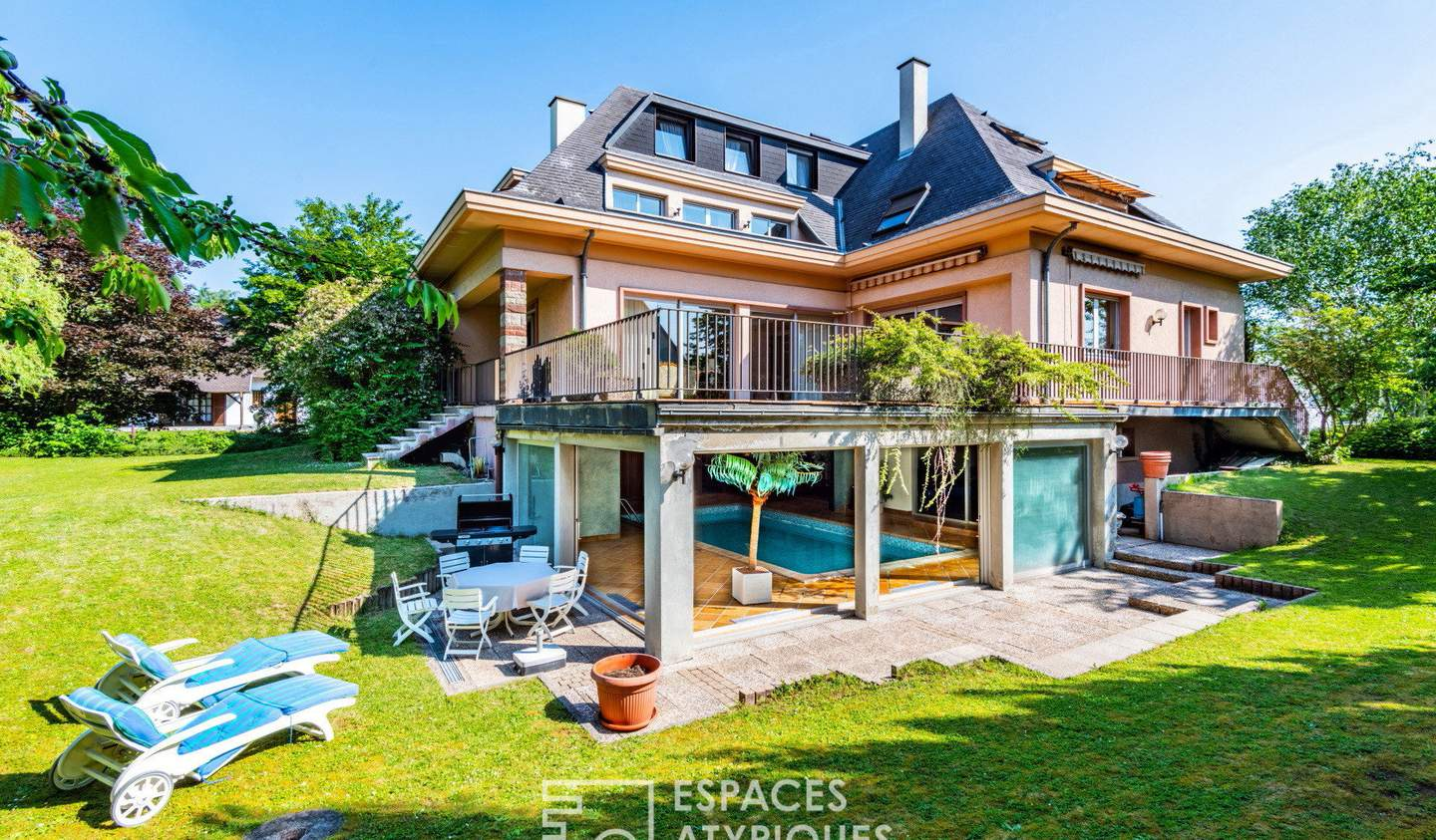 House with pool and terrace Holtzheim