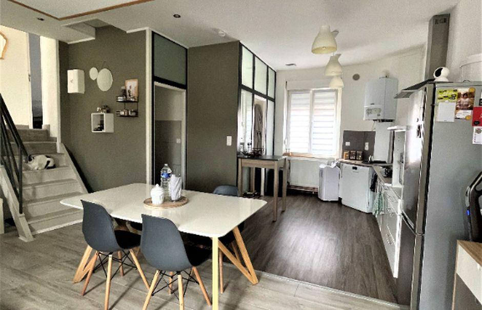 Vente maison 4 pièces 75 m² à Saint-Quentin (02100), 92 900 €