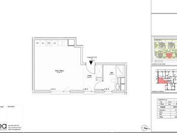 Studio 34,6 m2