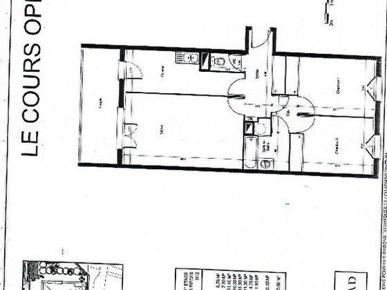 Vente appartement 3 pièces 69,28 m2