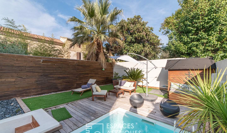 Appartement avec piscine Saint-Laurent-d'Aigouze