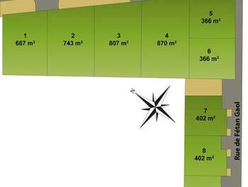 Terrain 687 m2
