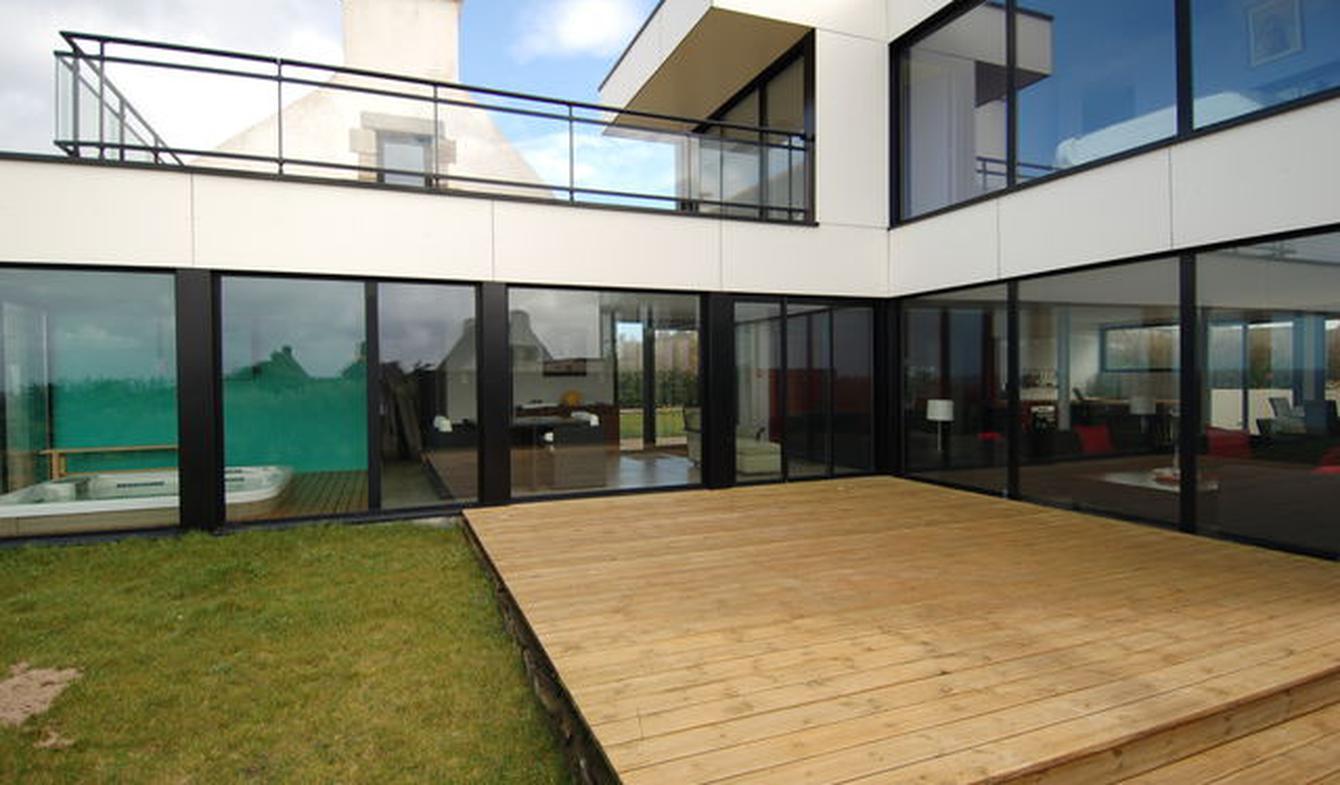 Seaside house and garden Plouescat